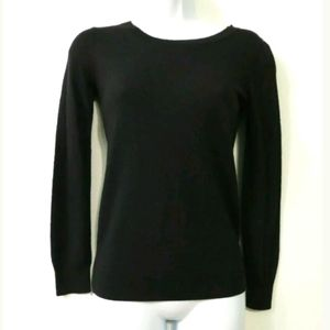 APC black XS sweater Soybean & Cashmere blend